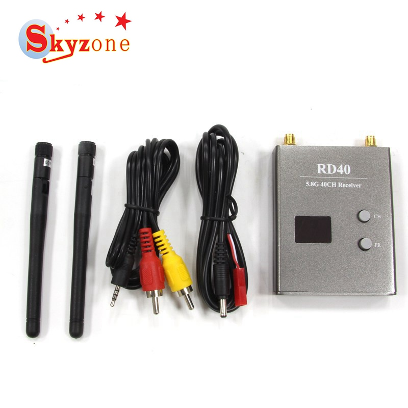 Skyzone RD40 FPV 5.8G 40CH Diversity Receiver RX for RC Racing Camera Drone FPV Quadcopter Goggles VS Eachine TS832 RC832