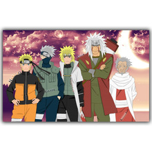 Naruto Poster Bedroom Wall Stickers Silk Wallpaper (19 styles)