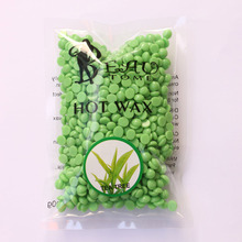 100g Green Tree Flavor Hair Removal Wax Beans 2016 New Depilatory Hot Film Hard Wax Beans Pellet Waxing Bikini Hair Removal Wax