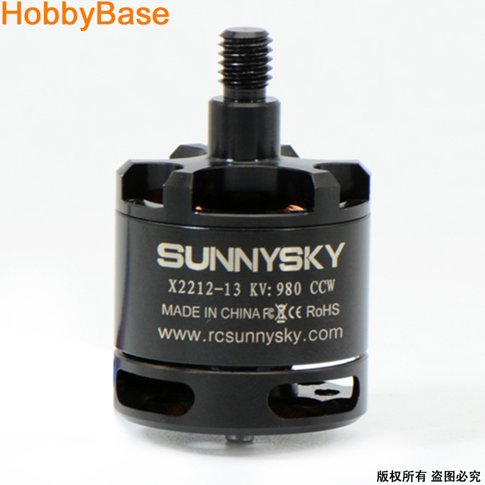 SUNNYSKY X2212 KV980 Brushless Motor W/ self-lock screw - CW CCW 4 x sunnysky x2212 kv980 brushless motor page href