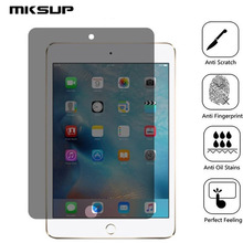 MKSUP For iPad PRO 10 5 2017 Anti Spy Tempered Glass Full Cover Screen Protector 9H