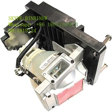 Barco R9801087 Original Replacement Lamp WITH housing for RLM W12 / RLMW12 Projector Models