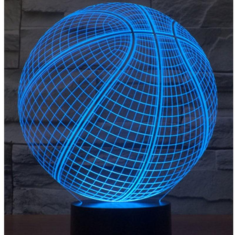 Luzes da Noite 3d levou luzes da noite Geração de Energia : Toque