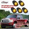Free Shipping LED Cab Light Offroad 4x4 Vehicles Led Signal Warning Emergency Amber Lamp For Wrangler