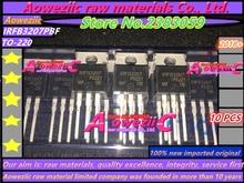 Aoweziic 2018 + 100% nieuwe geïmporteerde originele IRFB3207PBF IRFB3207 TO 220 MOS FET 75 v 180A