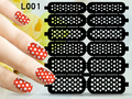 2016 New Hollowed-out Nail sticker 3D Style Stickers DIY Nail Art Decorations for Nail Polish Nail Art Tools XFL001-005