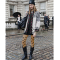 Apresurado Nueva Llegada Mujeres Medias Medias Collant 2016 Pantyhose de Las Mujeres Europeas de la Calle de Arte Grandes Ojos Medias medias Del Estiramiento