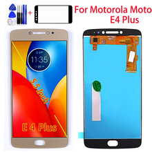 5.5 inch For Motorola Moto E4 Plus LCD Display Touch Screen Digitizer Assembly E4 Plus 1280*720 Free Tempered Glass and Tools все цены