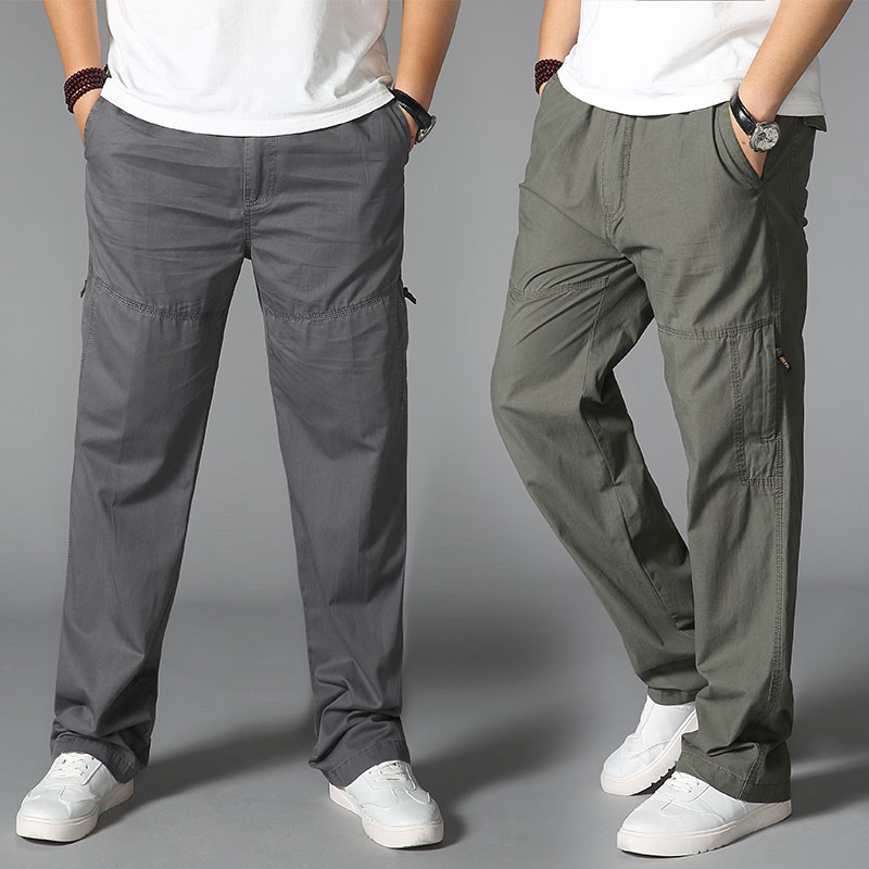 Summer Thin Quick-drying Sport Hiking Pants Travel Long Trousers For Male Pocket Mens Pants Fishing Trousers Plus Size sea cloud free shipping big size 28 44 plus length 125cm men pants cotton male jeans military man black long trousers for 200cm