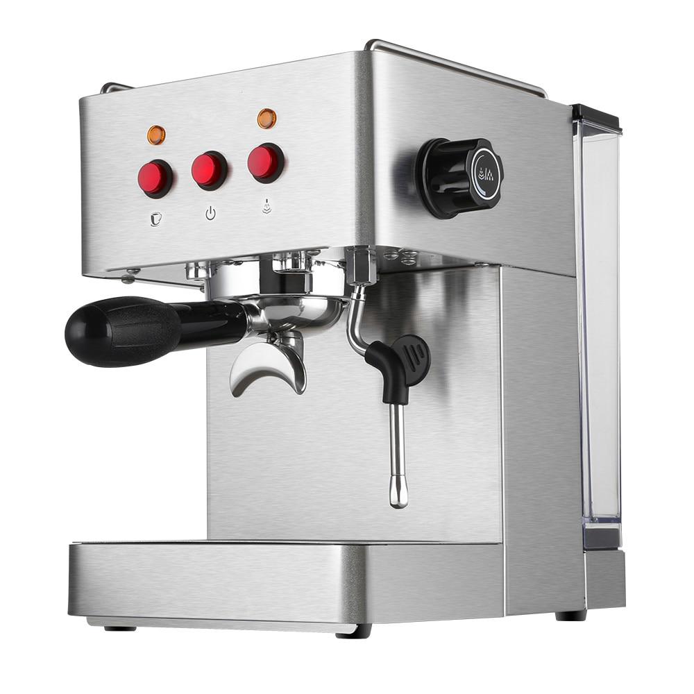 Espresso Coffee Maker Italian coffee machine is specialized semi-automatic, semi-automatic small steam Espresso