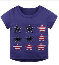 1-6Y 100% cotton cartoon childrens clothing baby boy fashion casual summer shirt child t-shirt short