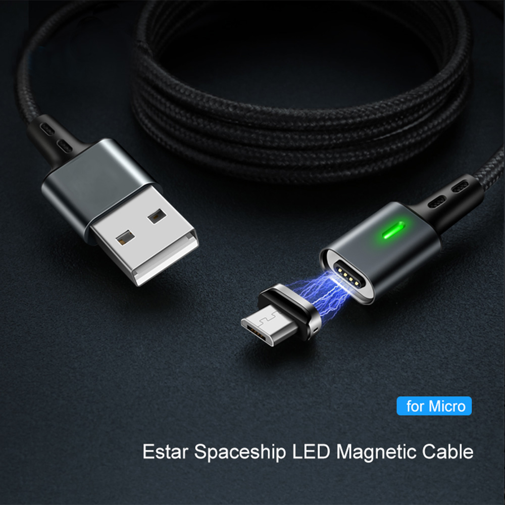 3A Quick Magnetic QC 3 0 Cable Micro USB Cable for Iphone Charge Micro USB Magnet Charger Cable Wire for Samsung Xiaomi Huawei in Mobile Phone Chargers from Cellphones Telecommunications