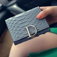Hot Selling Women Crocodile Grain Wallet Exquisite Workmanship Fashion Long Wallet Female Clutch Bag Money Card
