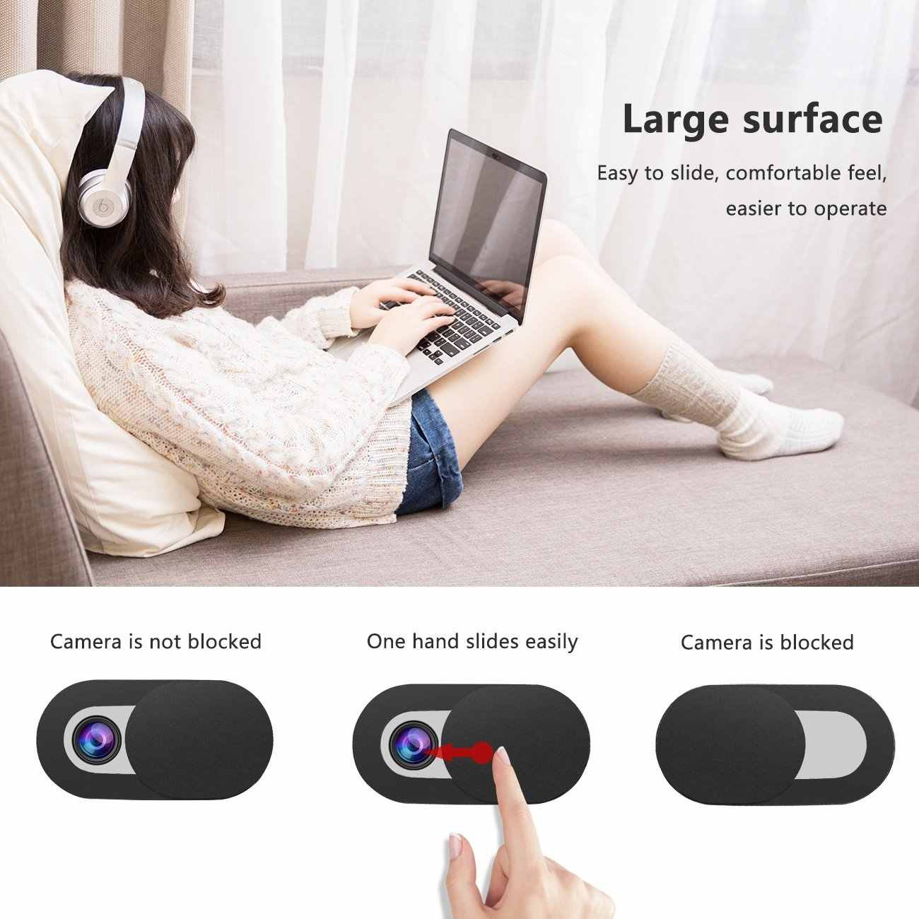 hot sale online 24adc 0a31c Detail Feedback Questions about WebCam Camera Cover For iPhone XS ...