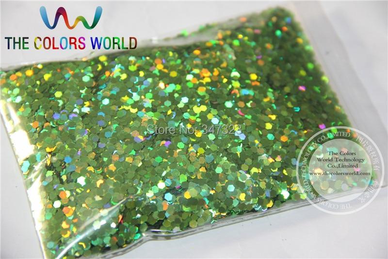 2 мм голографическая Apple зеленый цвет блеск дождевания Блестки для нейл-арта и другие DIY аксессуары