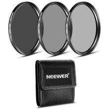 Набор фильтров Neewer 72 мм ND+ чистящая ткань для объектива CANON EF-S 18-200 мм f/3,5-5,6 IS/EF 28-135 мм f/3,5-5,6 IS USM/NIKON 24- 85 мм