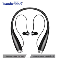 New HB 906 Bluetooth Earphone Magnetic Stereo Bass Noise Canceling Speaker Neck Headset 2 in1 Headphone for iPhone xiaomi