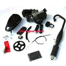 49cc велосипед 2 тактный газовый комплект моторного двигателя DIY моторизированный велосипед газ моторизованный велосипедный велосипед набор t8f цепь