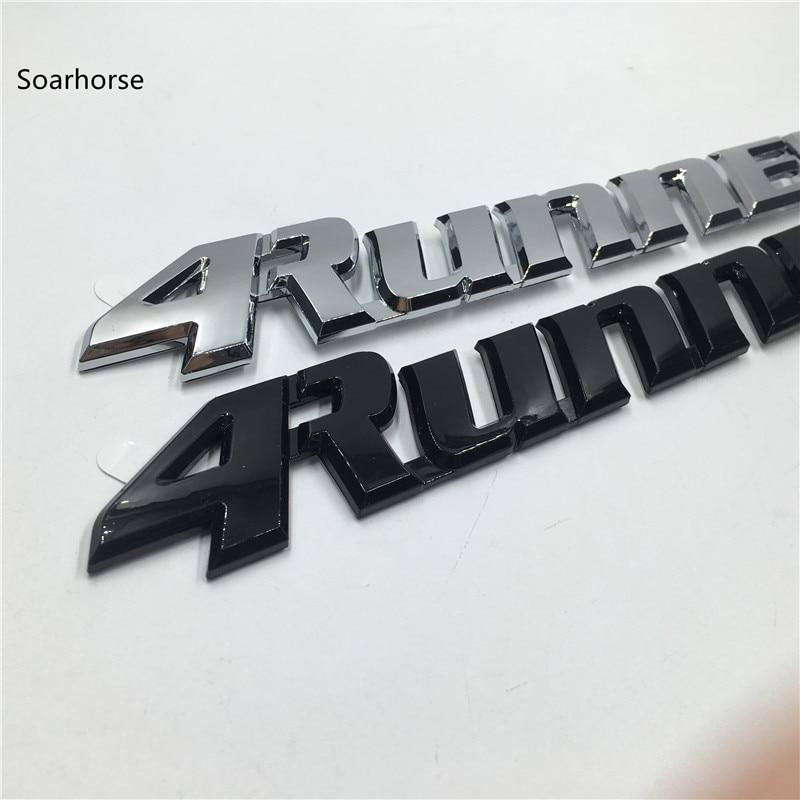 Soarhorse For Toyota 4Runner 1999-2002 4 Runner Rear Tailgate Emblem P/N 75445-35060 цена