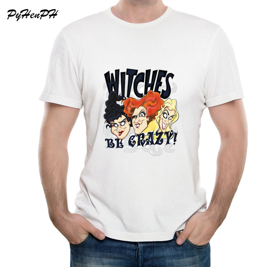 New Hot Sale <font><b>Sanderson</b></font> <font><b>Sisters</b></font> C <font><b>Hocus</b></font> <font><b>Pocus</b></font> Halloween Movie Design T-Shirt O-Neck T Shirt Harajuku Tops Tee Shirt Homme image