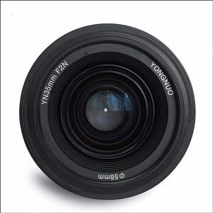 Image 3 - YONGNUO YN35mm F2.0 F2N เลนส์,YN50mm เลนส์สำหรับ Nikon F Mount D7100 D3200 D3300 D3100 D5100 D90 กล้อง DSLR สำหรับ Canon DSLR กล้อง