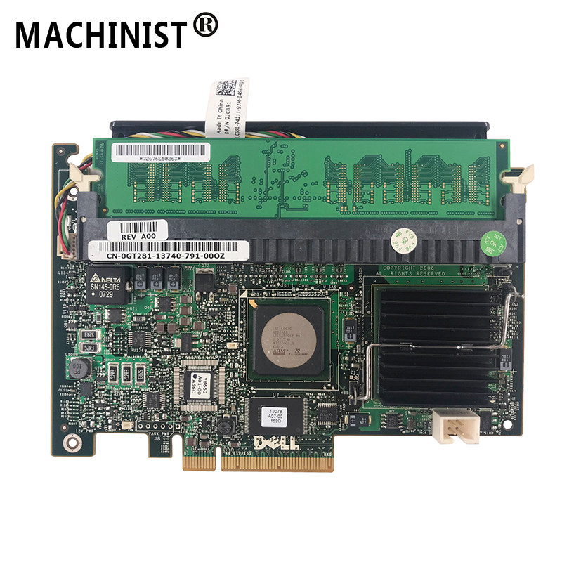 for DELL PERC H700 512MB Cache RAID Controller for C2100 C1100 H700 Server  Computer
