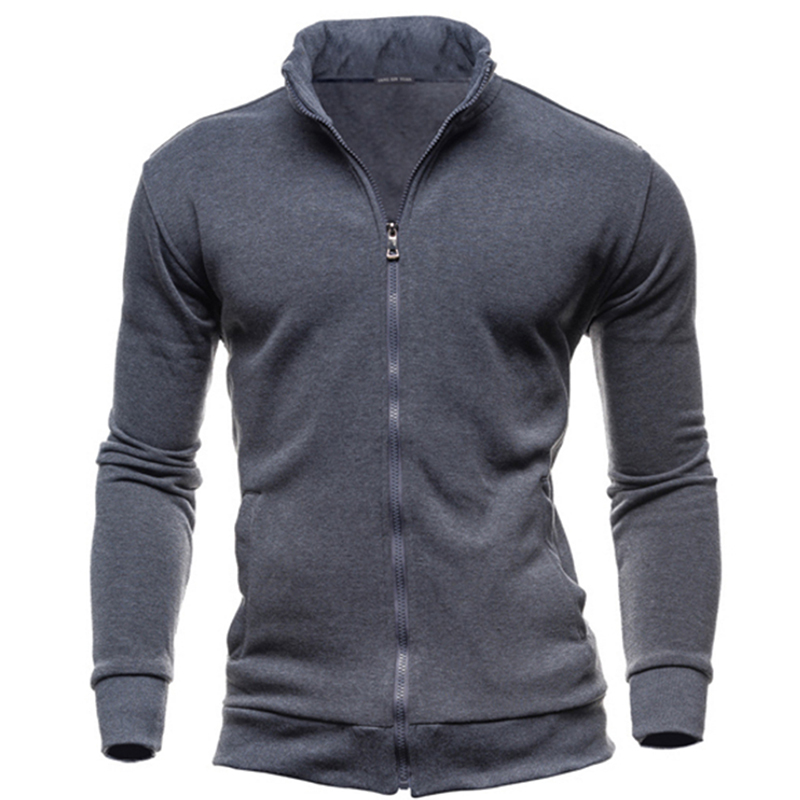 Autumn Winter Fleece Hoodies Men Sweatshirts Zipper Fitness Hoody Jackets And Coats For Men Cardigans Plus Size 3XL