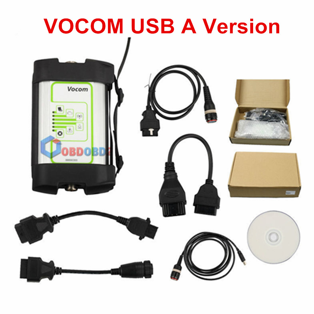 US $209 0 5% OFF|Newest For Volvo 88890300 Vocom Interface Truck Diagnostic  Tool For UD/Mack/Volvo Vocom 88890300 Online Update Free Ship-in Engine