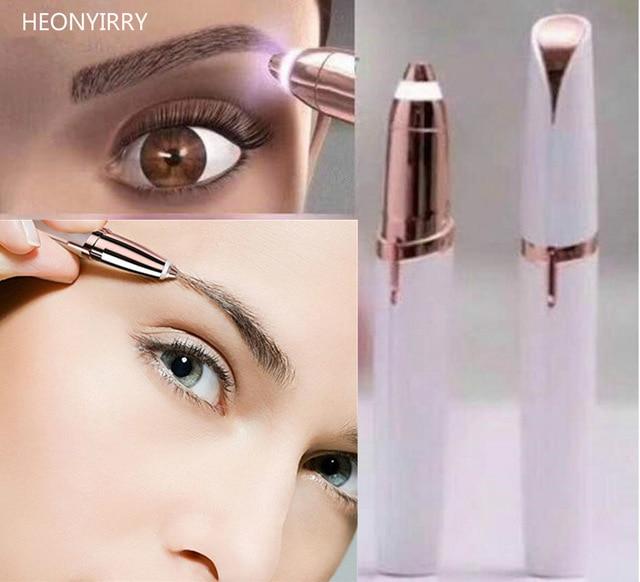 Electric Face Brows Hair Remover Epilator Mini Eyebrow Shaver Razor Instant Painless Portable Epilator Shaving & Hair Removal цена 2017