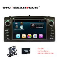 SMARTECH 2 Din Android 6 0 1 Car Multimedia Player DVD GPS Navigation For TOYOTA COROLLA