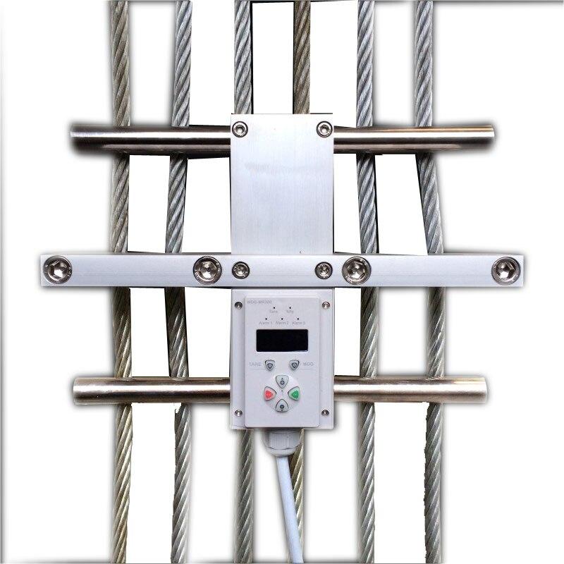 DC24V 2 реле ограничитель нагрузки контроллер сенсор для 6 8 проводов, 6 ~ 23 мм канат диаметр лифта провода веревки