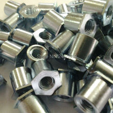 SOS-3.5M3-8  Thru-hole threaded  standoffs,  stainless steel 303, Nature ,PEM standard,in stock, Made in china,