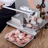 Universal máquina de corte de osso costelas máquina de corte de guilhotina costelas cortador de osso serra ossos slicer moedor de carne para processador de alimentos