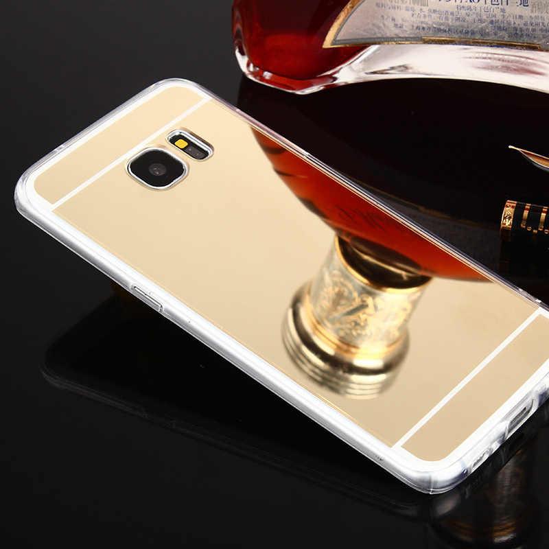 をサムスンギャラックス J7 ネオ Nxt コア J3 J5 プロ首相 J1 A3 A5 A7 A8 プラス 2018 2017 2016 2015 ミラー 360 携帯電話カバー
