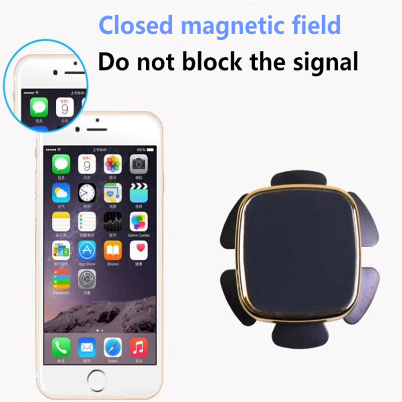 Smart Magnetic Car Phone Holder Universal Wall Desk Metal Magnet Sticker Mobile Stand Phone Holder Car Mount Support For Iphone X 7 Xs Mobile Phone Accessories Cellphones & Telecommunications