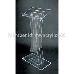 Free Shipping High Quality Fruit Setting Modern Design Acrylic Lectern podium stand