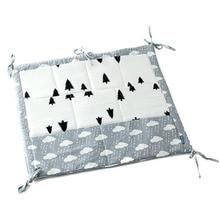 9 Pockets Baby Crib Nursery Organizer Cot Storage Bag Tidy Bumper Diaper Stacker