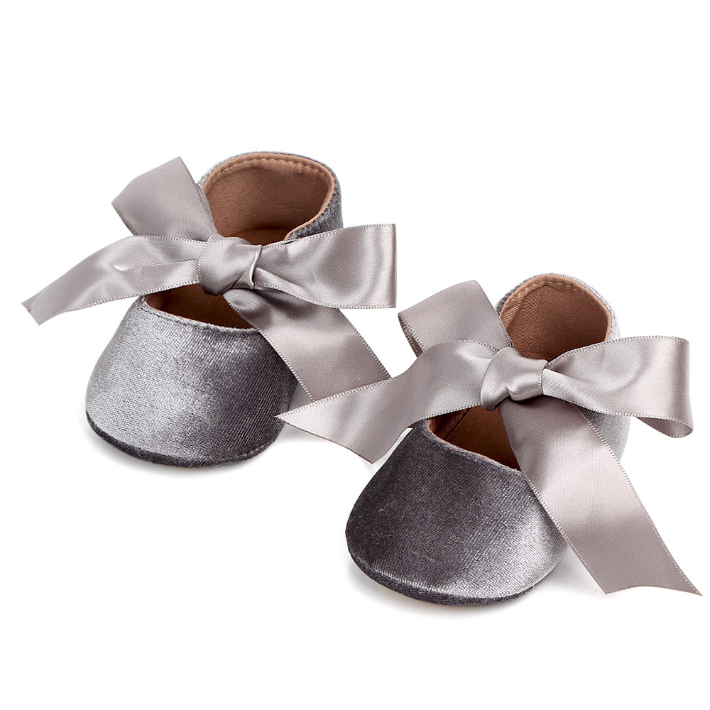 Baby Girl Cute Shoes Bow Lace Up PU Leather Princess Baby Shoes First Walkers Newborn Moccasins Toddler Shoes Baby Girls