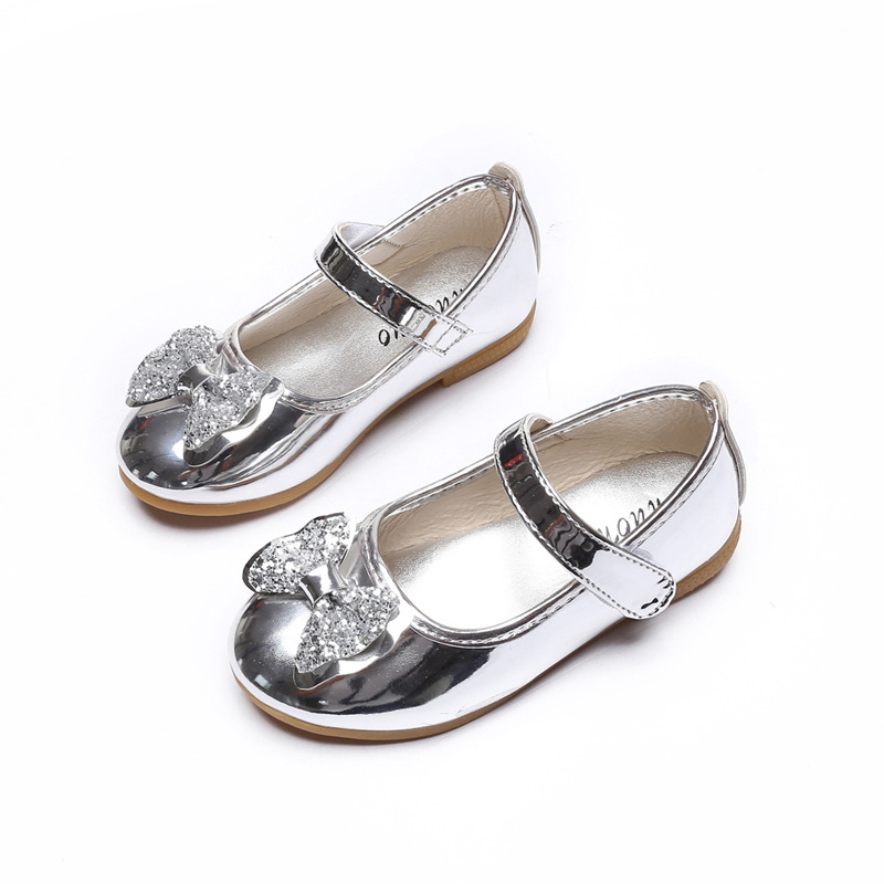 Summer Female Child Leather Sandals Girl Sweet Princess Shoes Baby Dance Shoes Toddler Baby Sandals Girls Top Quality Shoes