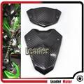 Hot Sale Motorcycle For KAWASAKI Z1000 2014-2015 carbon fiber Windscreen Windshield bracket & Instrument wind shield Cover