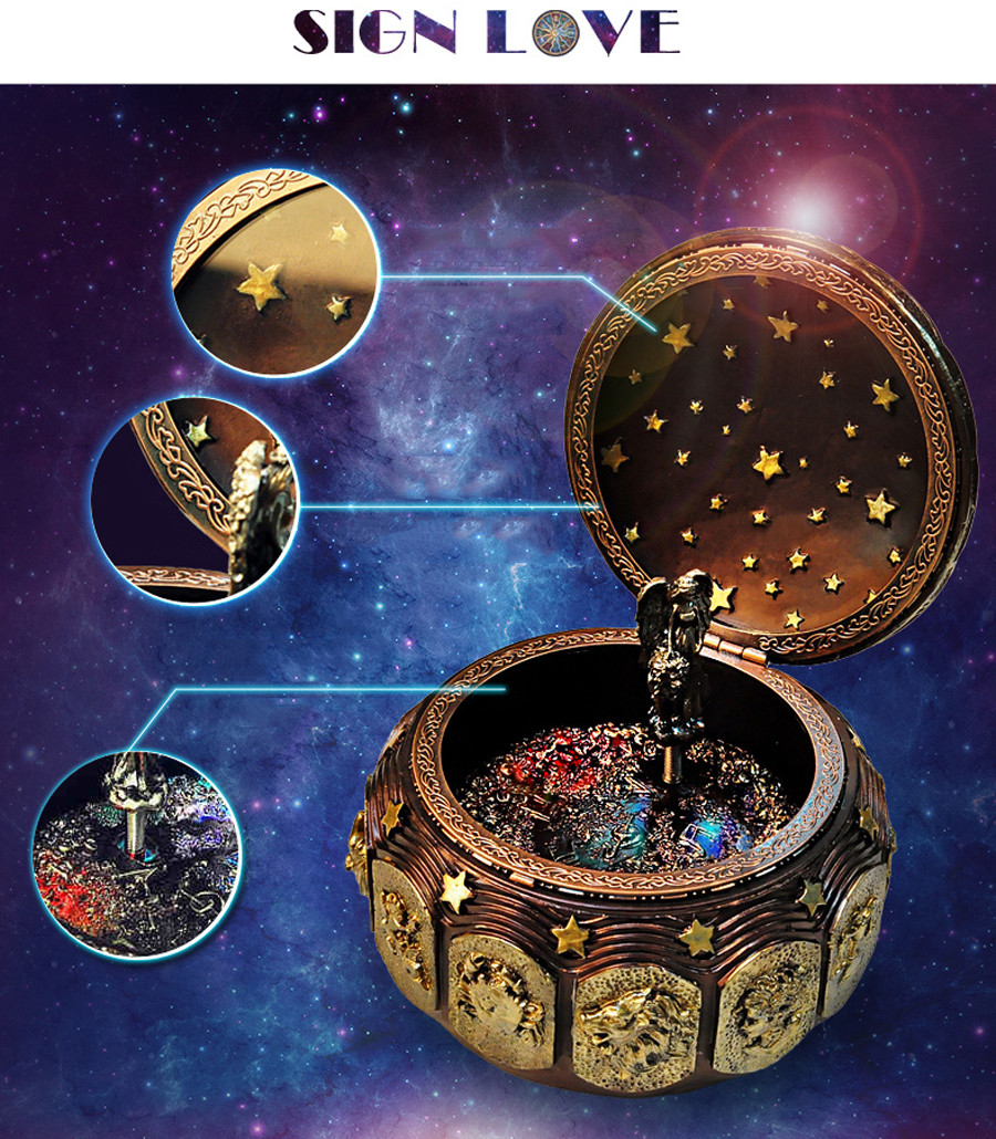 12 Constellation Music Box (12)