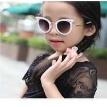e9e01eaca Ywjanp 2018 Crianças Óculos De Sol Meninas Meninos Óculos De Marca Olho de  Gato Crianças UV400 Lente óculos de Sol Do Bebê Bonit.