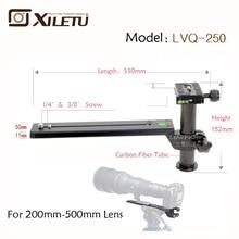Xiletu LVQ-250 Telephoto Zoom Lens Bracket Adapter Tripod Monopods With 1/four'-Three/8inch Screw Fast Launch Plate