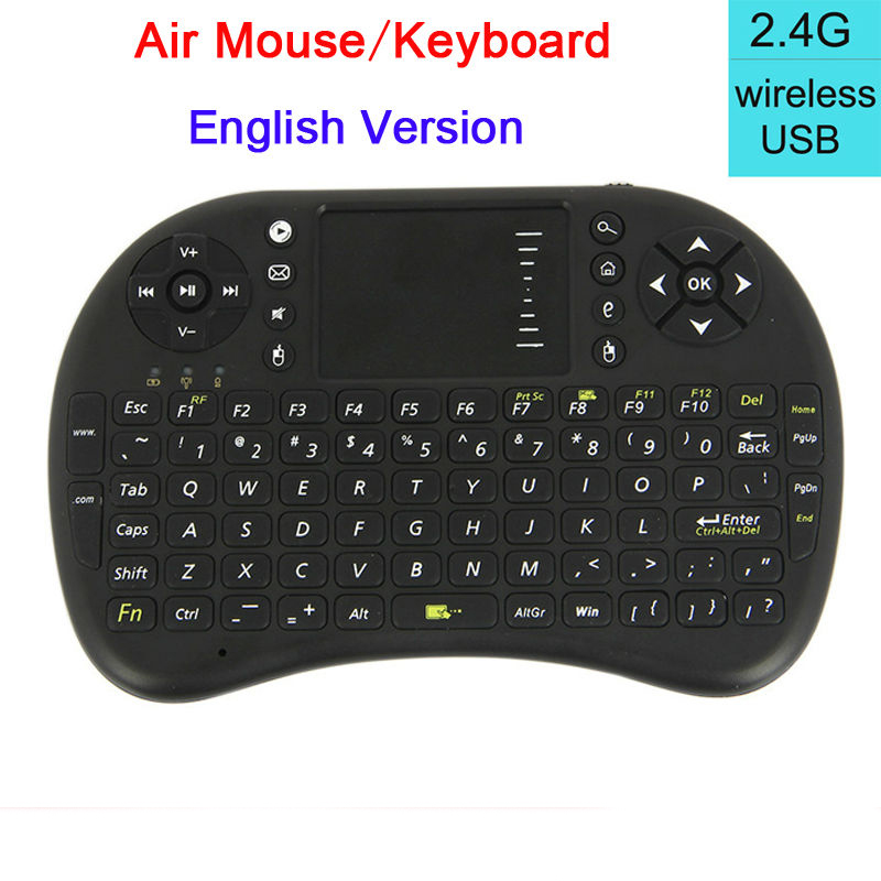 Wireless 2.4G mini i8 Keyboard Touch Pad mouse gaming Keyboard for HTPC Tablet Laptop PC for Ancroid