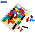 Kids Toys Wooden Tangram Brain Teaser Puzzle Tetris Game Educational Baby Child Toy Children Jigsaw Toy