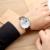 Twincity cronógrafo dos homens do esporte relógio militar calendário couro genuíno de quartzo relógios mens seis-pin relógio de pulso moda relojes