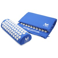 Body Pain Relieve Stress Tension Acupuncture Cushion Mat Yoga Lotus Spike Acupressure Mat Pillow Set W
