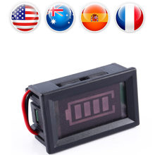 12V Digital LED Battery Capacity Tester Voltmeter Meter MP Indicator Monitor Analyzer Acid Lead Batteries Indicator Wholesale(China)