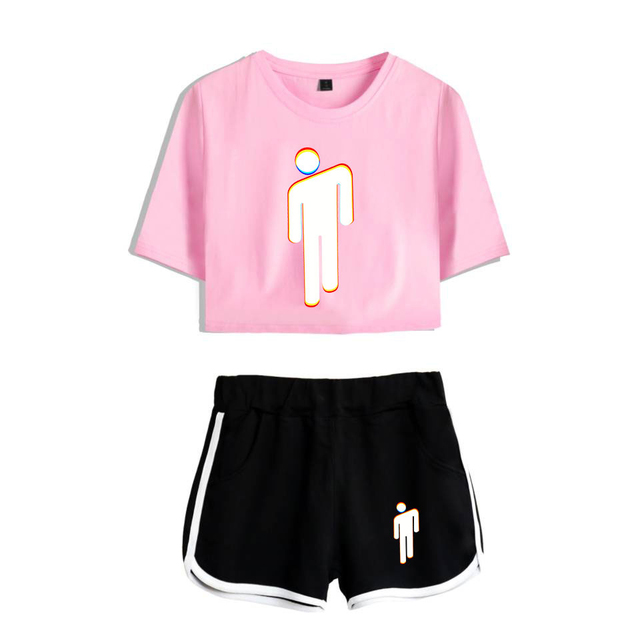 SET BILLIE EILISH SHORT + T-SHIRT (28 VARIAN)
