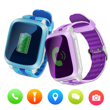 DS18 Smartwatch Children Call Bluetooth Pedometer Smart Watch Waterproof Wearable Device GPS SIM SOS Call Kids Safe For Android(China)